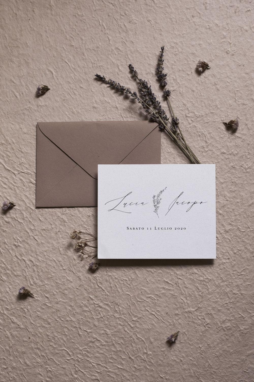 Font partecipazioni matrimonio: calligraphy