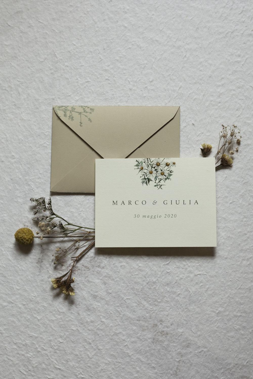 Font partecipazioni matrimonio: serif